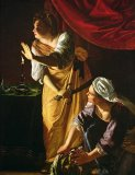 Judith and Maidservant with the Head of Holofernes by Artemisia Gentileschi