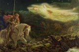 Quest for the Holy Grail by Arthur Hughes