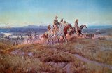 Riders of the Open Range by Charles Marion Russell