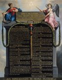 Declaration of the Rights of Man and Citizen by French School
