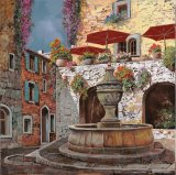 la fontana a St Paul de Vence by Collection 7