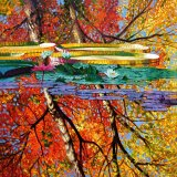 Fall Reflections by John Lautermilch