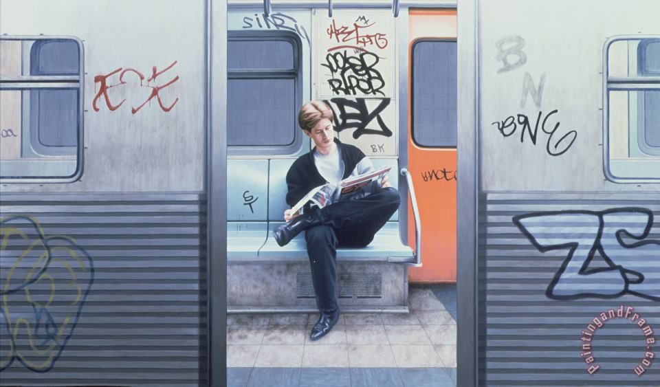 Max Ferguson Take the A Train Art Print