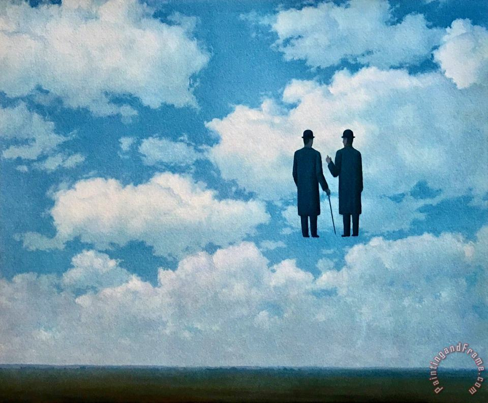 rene magritte The Infinite Recognition 1963 Art Painting
