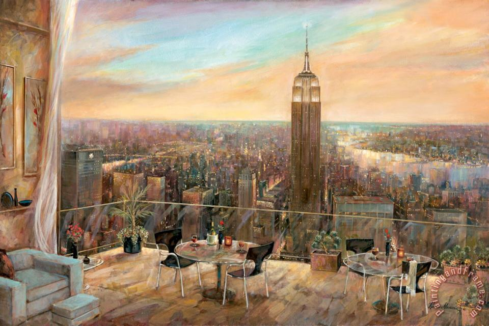 Ruane Manning A New York View Art Painting