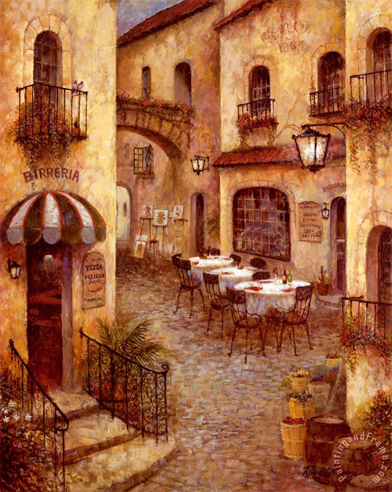 Ruane Manning Buon Appetito I Art Painting