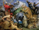 The Tiger Hunt by Rubens