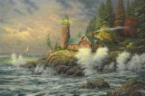 Courage by Thomas Kinkade