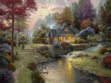 Stillwater Cottage by Thomas Kinkade