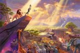 The Lion King by Thomas Kinkade