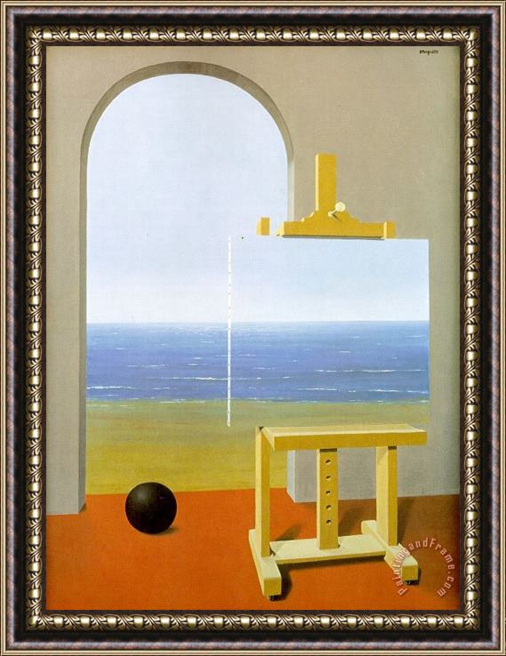 rene magritte The Human Condition 1935 Framed Print