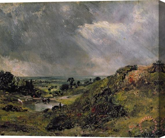 John Constable Hampstead Heath Stretched Canvas Print / Canvas Art