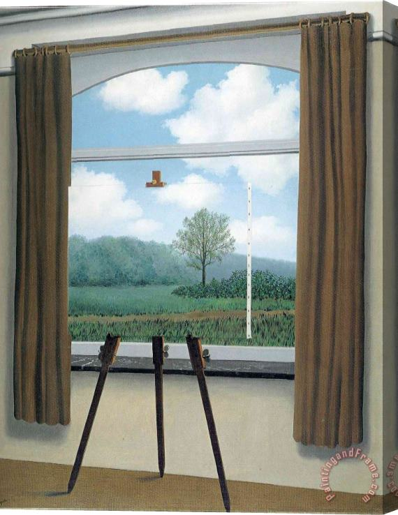 rene magritte The Human Condition 1933 Stretched Canvas Print / Canvas Art