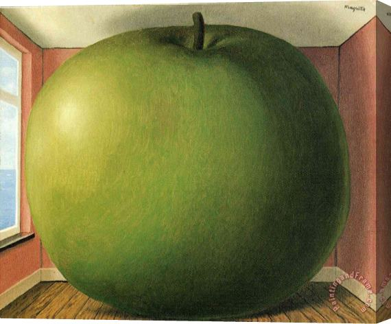rene magritte The Listening Room 1952 Stretched Canvas Print / Canvas Art