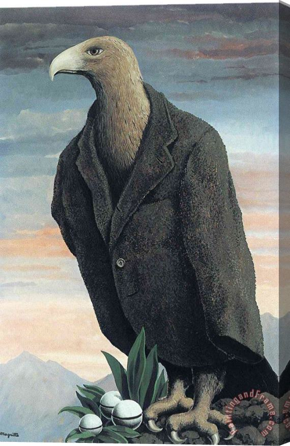 rene magritte The Present 1939 Stretched Canvas Print / Canvas Art