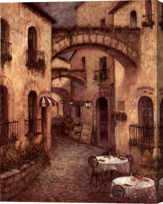 Ruane Manning Buon Appetito II Stretched Canvas Painting / Canvas Art