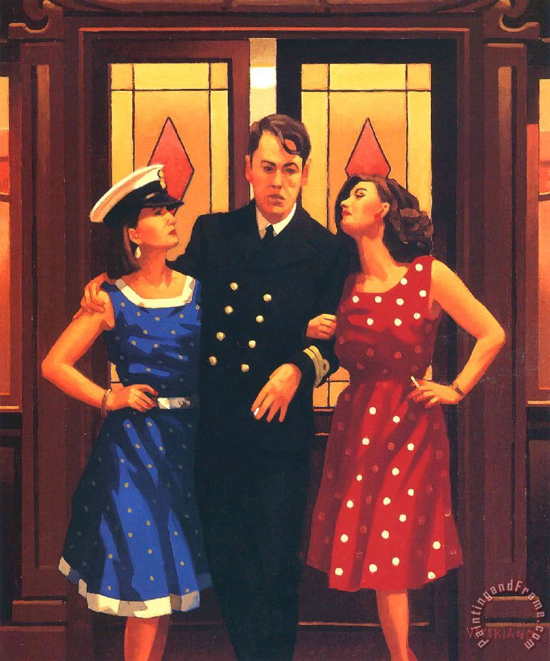 Jack vettriano and so to bed painting and so to bed for And so to bed