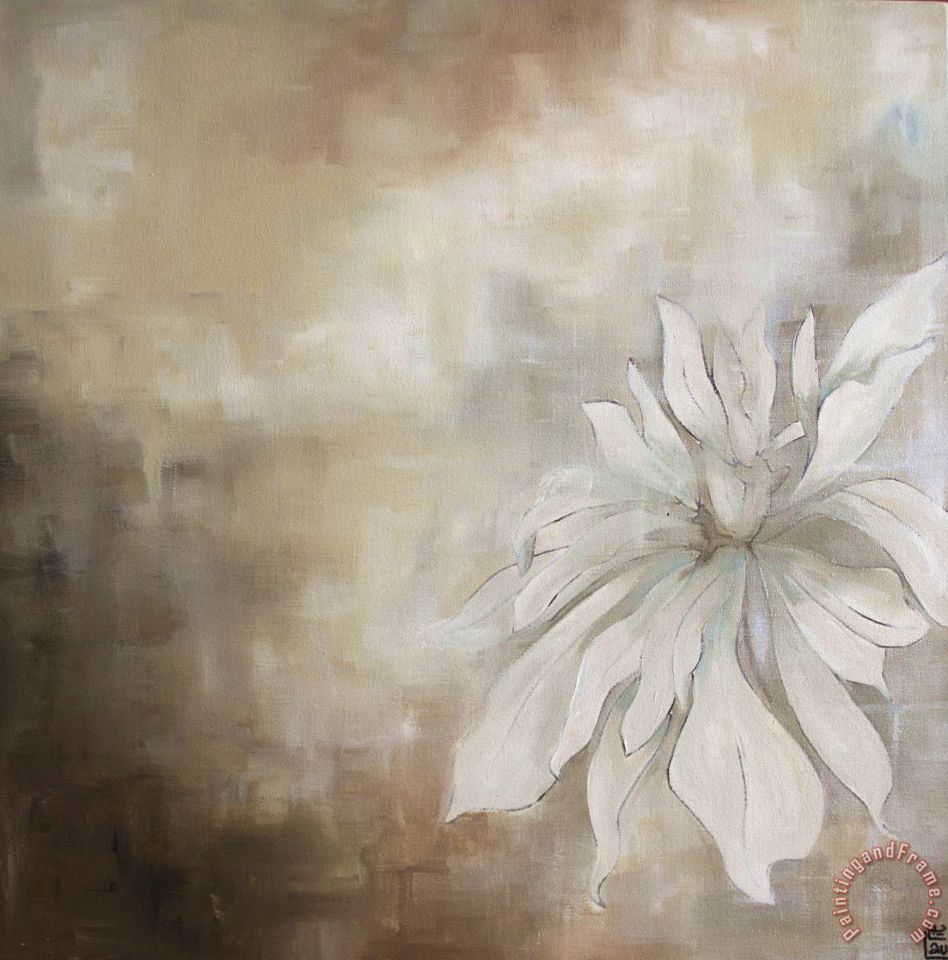 Laurie maitland white flowers ii painting white flowers ii print white flowers ii painting laurie maitland white flowers ii art print mightylinksfo