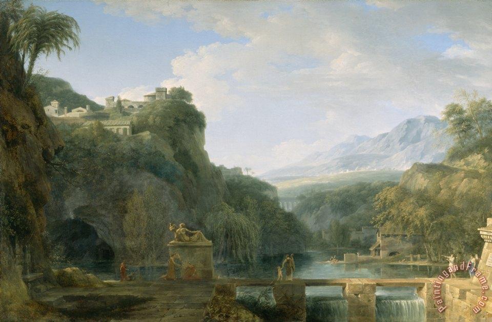 Pierre Henri De Valenciennes Landscape Of Ancient Greece